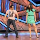 Salman Khan and Katrina Kaif promoting 'Ek Tha Tiger' on Lil masters