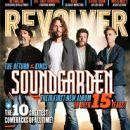 Ben Shepherd, Matt Cameron, Kim Thayil, Chris Cornell - Revolver Magazine Cover [United States] (December 2012)