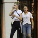 Nicola Peltz out to dinner in Beverly Hills