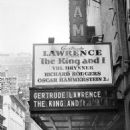 The King and I Orginal 1951 Broadway Cast Starring Gertrude Lawrence - 454 x 599