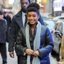 Yara Shahidi – Arrives at 'Good Morning America' in NYC - 454 x 681