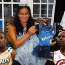 Laura Govan and Shaquille O'Neal
