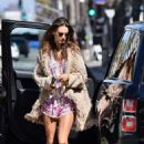 Alessandra Ambrosio – Seen while out for lunch in Santa Monica