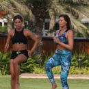 Jess Wright – Working Out in Dubai - 454 x 627