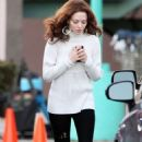 Amanda Seyfried Makes Debut on the 'Lovelace' Set