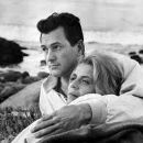 Salome Jens and Rock Hudson