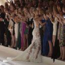 Bar Refaeli Pronovias 50th Anniversary Bridal Fashion Show In Barcelona