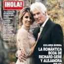 Richard Gere and Alejandra Silva Friedland