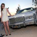 Britt Robertson – Dior Sauvage Party in Pioneertown