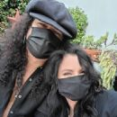 Slash and Meegan Hodges