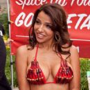 Vida Guerra - PETA's 2010 National Veggie Dog Day At The Rayburn House Office Building Courtyard On July 14, 2010 In Washington, DC