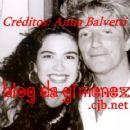 Luciana Morad & Rod Stewart