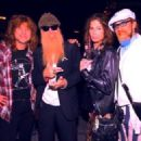 Dusty Hill, Mark Hudson, Steven Tyler, Steven Adler