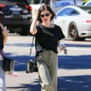Lucy Hale – Out and about with a friend in LA - 454 x 636