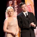 Michael Schur and Amy Poehler
