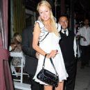 Paris Hilton And Benji Madden At Il Sole Restaurant, 2008-09-03