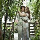 Maria and Klebber posing in romantic mood