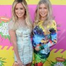 Ashley Tisdale: attended the 2013 Nickelodeon Kids Choice Awards in Los Angeles