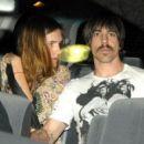 Anthony Kiedis and Nika (Model) - 454 x 410