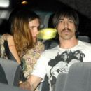 Anthony Kiedis and Nika (Model)