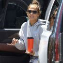 Jennifer Lopez in Spandex – Out for workout in Beverly Hills