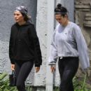 Amelia Hamlin and Lisa Rinna – Heading to the gym in Los Angeles - 454 x 681