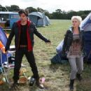 Hannah Spearritt and Andrew Lee potts
