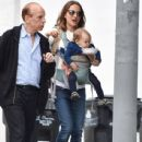 Natalie Portman: with Amalia Millepied in Los Angeles