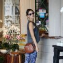 Alessandra Ambrosio – Out in Brentwood 8/25/2016