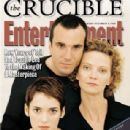 Daniel Day-Lewis, Winona Ryder - Entertainment Weekly Magazine Cover [United States] (6 December 1996)