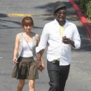 Will.i.am Lunching in Hollywood
