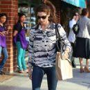 "Ashley Greene having lunch at ""Judi's Deli"" in Beverly Hills (January 16)"