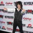 Musician Rudy Sarzo arrives at the 2nd Annual Revolver Golden Gods Award held at club Nokia on April 8, 2010 in Los Angeles,CA
