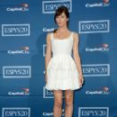 Jessica Biel poses in the press room during the 2012 ESPY Awards at Nokia Theatre L.A. Live on July 11, 2012 in Los Angeles, California