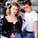 Kylie Minogue and Charlie Schlatter