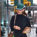 Bella Hadid – Visit her sister Gigi at her apartment in New York City