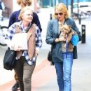 Naomi Watts is all smiles while out and about in New York City, New York with her mom Myfanwy Edwards Roberts on October 17, 2016 - 454 x 600