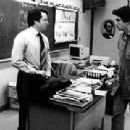 Matthew Broderick with director Alexander Payne on the set of Election - 350 x 211