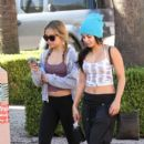 Vanessa and Stella Hudgens: out and about in Los Angeles