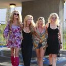 The 'Ex Wives of Rock' film scenes for the Reality Show in Los Angeles