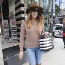 Ashley Greene Shopping at Sephora in Beverly Hills