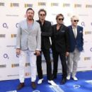 Simon Le Bon, John Taylor, Roger Taylor and Nick Rhodes of Duran Duran attend the Nordoff Robbins 02 Silver clef Awards at The Grosvenor House Hotel on July 3, 2015 in London, England. - 454 x 297