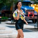Victoria Justice – out and about in Midtown in NY