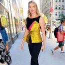 Kate Upton – Arriving at Bravo Studios in New York - 454 x 677