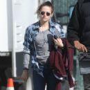 "Kristen Stewart on the set of ""Still Alice"" in New York City (March 18, 2014)"