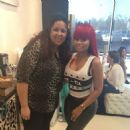 Blac Chyna & Kylie Jenner at Laque Nail Bar in North Hollywood - November 30, 2013