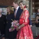 King Willem-Alexander and Queen Maxima of The Netherlands Open Holland Festival - 340 x 600