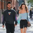 Bella Hadid and The Weeknd – Holding hands while out and about in NYC