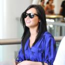 Demi Lovato Arrives Into LAX Airport - May 30, 2010
