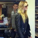 Shopping for sunglasses in West Hollywood, CA. (December 21, 2010)